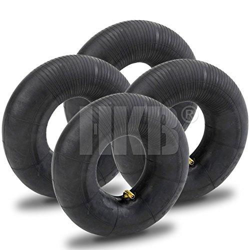 HKB ® Schlauch für Luftrad, ideal auch als Ersatzschlauch, mit TR87 Winkelventil aus Metall, 3,00-4 TR87C, geeignet für Sackkarren, Bollerwagen, Transportwagen und Handkarren (4)