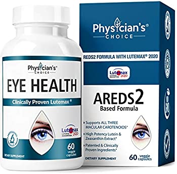 2-Pack Physician's Choice Areds 2 Eye Vitamins Supplement