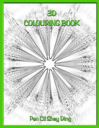 3D colouring Book: Book 1