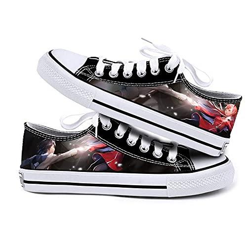 NIEWEI-YI Zapatos De Lona De Darling in The FRANXX, Zapatos para Caminar, Deportes Al Aire Libre, Zapatos Masculinos, Zapatos Planos para Hombre, Zapatillas para Correr,43 EU