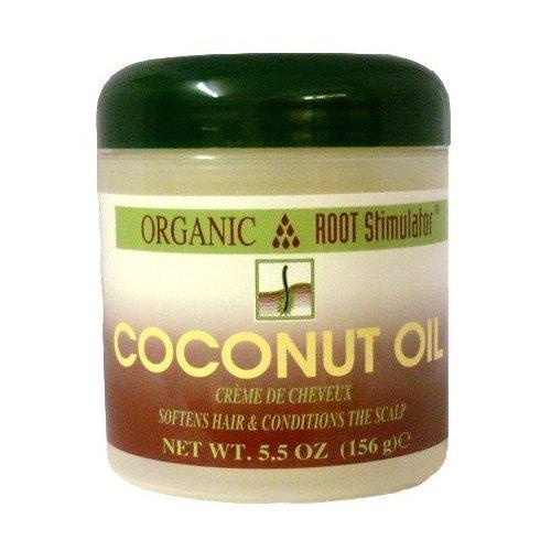 Organic Root Stimulator Huile capillaire à la noix de coco 156 g