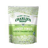 Charlie's Soap Laundry Powder (100 Loads, 1 Pack) Hypoallergenic...