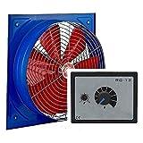 300mm Ventilador industrial con 500W Regulador de Velocidad Ventilación Extractor Helicoidal Helicoidales Ventiladores ventiladore industriales Axial extractores aspiracion mura pared ventana