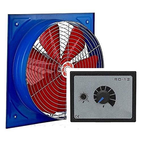 350mm Industrial Ventilador +10A REGULADOR Ventilación extractor Ventiladores ventilador Fan Fans industriales Axiak axiales extractores centrifugos radiales turbina aspiracion