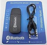 KMJSA B46 Bluetooth Dongle Car Bluetooth 4.0 USB Music Audio Receiver Wireless 3.5MM Jack Bluetooth Transmitter Bluetooth Audio Music Adapter Car Aux Wireless Handsfree