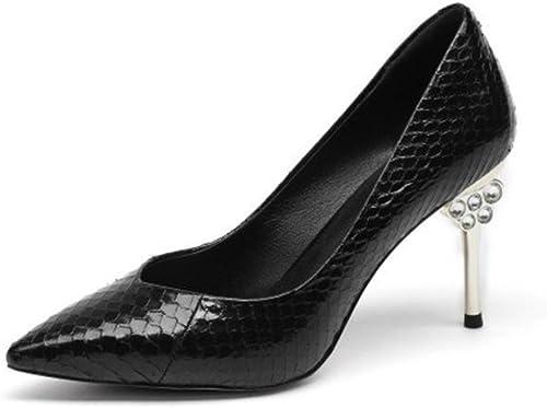 ZHRUI Pumps Highheels H5277 H5277 H5277 Frauen Schuhe Sandalen Freizeit Business Hochzeit Diamond Stiletto Absatz 8,5 cm Schwarz Gelb-Grün  Online-Verkauf