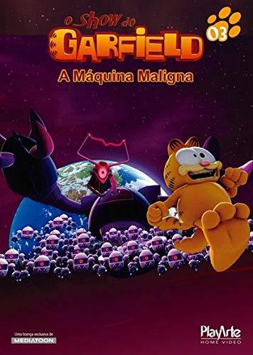 """O Show Do Garfield - """"A Máquina Maligna"""" [DVD]"""