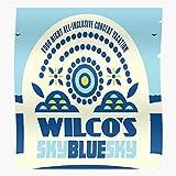 Wilco Kunstdruck-Poster, Himmelblau