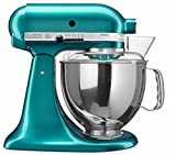 KitchenAid Artisan Series 5KSM150PSDCA 300 - Watt Tilt Head Stand Mixer 4.8 Litre - Candy Apple