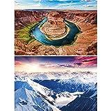 GREAT ART® Set mit 2 Poster – Landschaftsbilder –