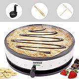 Duronic (Renewed) Crepe Maker PM131   33cm Electric Pancake Machine   1300W  