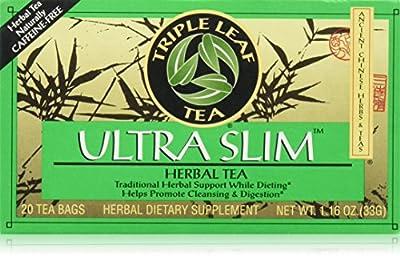 Triple Leaf Tea Ultra Slim 20 Tea Bags by Triple Leaf Tea