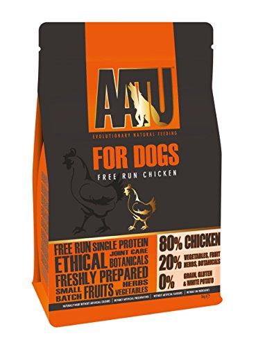 AATU 80/20 Dry Dog Food, Chicken, High Protein, Grain Free Recipe, No Artificial Ingredients, 5 kg