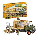 Schleich 42475 Wild Life Play Set - Camión de salvamento, juguetes a partir de 3 años