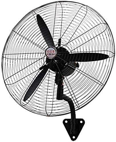 TAIDENG Ventilador de Pared Que enfría el Ventilador de la Cabeza de agitación, el Ventilador Industrial Negro, Usado en fábrica/almacén/Garaje, Aspirador de Aluminio (Color : 80cm, Size : 80cm)