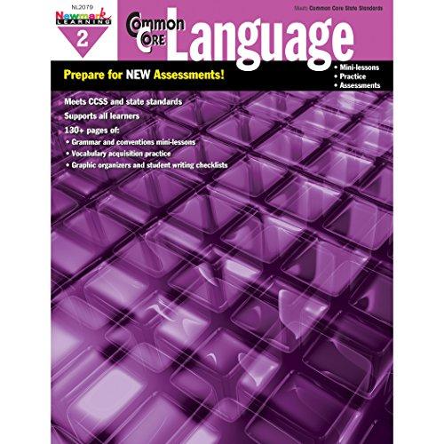Newmark Learning Grade 2 Common Core Practice Language Book (CC Language)