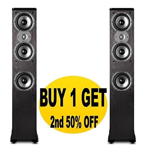 Fantastic Deal! Polk Audio TSi400 Floorstanding Speakers (Pair Black)