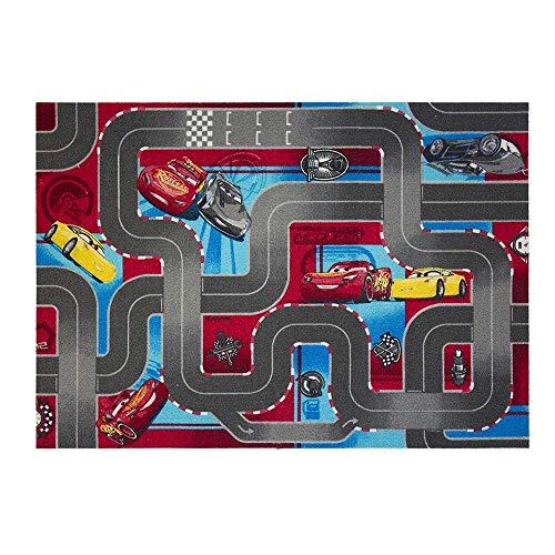 GUIZMAX Tapis Enfant Cars 3 Disney 133 x 95 cm Broadloom