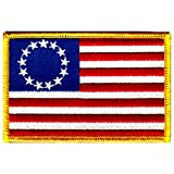 American Flag Embroidered...image