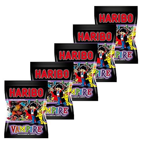 Haribo Vampire, 5unidades, ositos de goma, vino goma, Golosinas, en bolsa, bolsa