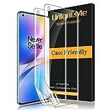 [2 Stück] UniqueMe Schutzfolie für Oneplus 8 Pro Folie, Oneplus 8 Pro Flexible Bildschirmschutzfolie Soft HD TPU Klar Bildschirmschutz