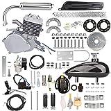 Yaheeda 80CC Bicycle Engine Kit,Motorized Upgrade Bike 2-Stroke Conversion Kit,DIY Petrol Gas Engine Bicycle Motor Kit Set for 24', 26'...