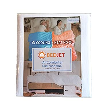 BedJet AirComforter Cooling & Heating Sheet, Dual Zone KING, NOT included