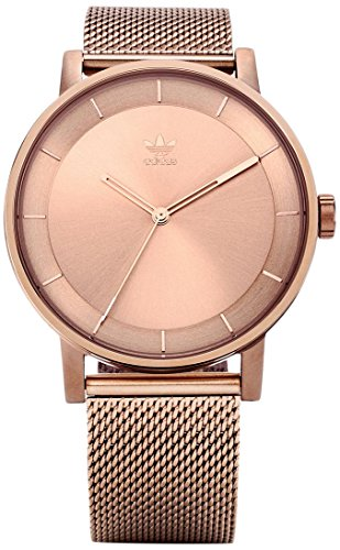 Adidas Damen Analog Quarz Uhr mit Edelstahl Armband Z04-897-00