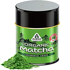 AUTHENTIC PREMIUM QUALITY CEREMONIAL MATCHA: Not culinary packaged as ceremonial, but One which represents the Finest quality available to the world. Only Youngest, most delicate top leaves handcrafted 100% ORGANIC & BEST QYALITY: Certified by Canadi...