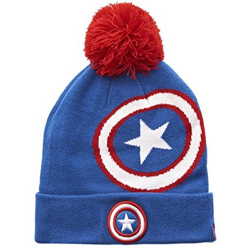 New Era Chapeau d'hiver Beanie - HERO MARVEL Captain America