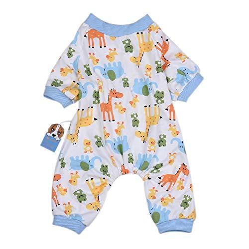 Supertop Soft Clothes Für Hunde Und Katzen, Hundepyjamas Cotton Puppy Strampler Pet Overalls Kuschelige Bodys Für Kleine Hunde Und Katzen