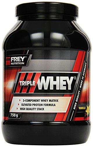Frey Nutrition Whey Protein Vanille Dose, 1er Pack (1 x 750 g)