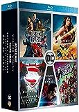 DC Universe - L'intégrale des 5 films : Justice League + Wonder Woman + Suicide Squad + Batman v Superman : L'aube de la justice + Man of Steel [Francia] [DVD]