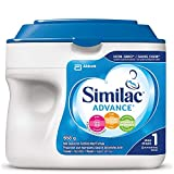 Similac Advance Step 1 Non-gmo Baby Formula Powder, 0+ Months, Blue, 658g