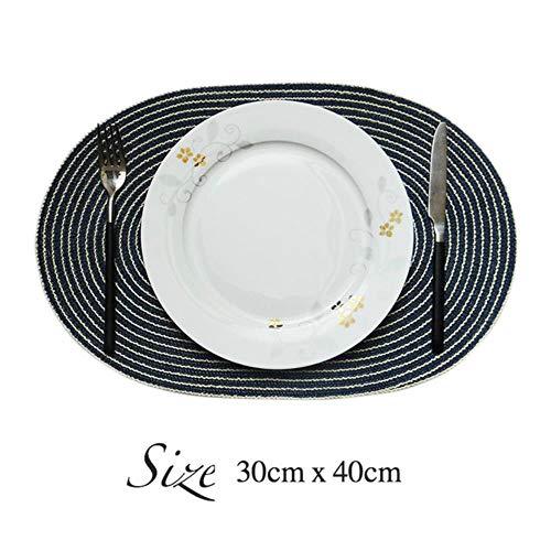 Avin Ronde katoen geweven mat onderzetter placemat eettafel keuken accessoires decoratie
