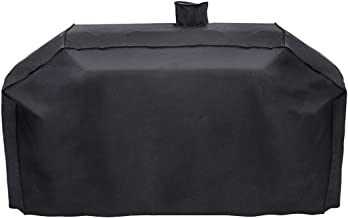 ProHome Direct Heavy Duty BBQ Grill Cover Fits for Smoke Hollow Gas/Charcoal Grill and More,UV and Water Resistant Fabric,All Weather Protection Grill Cover,79 Inch,Black