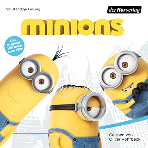 Minions audiobook cover art