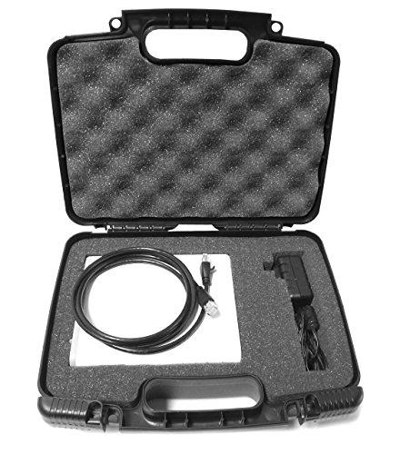 Casematix Desktop External Hard Drive Case Compatible with Gtechnology G Drive USB 8tb, 6tb, 10tb UsbC Thunderbolt Desk Hard Drives and Cables