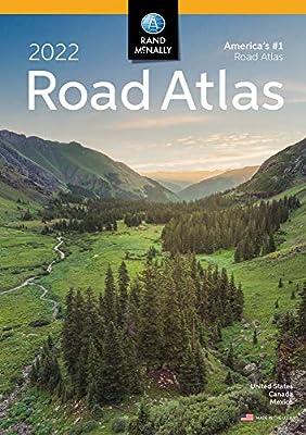 Rand McNally 2022 Road Atlas United States Canada Mexico (Rand McNally Road Atlas: United States, Canada, Mexico)