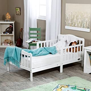 The Orbelle Contemporary Solid Wood Toddler Bed -