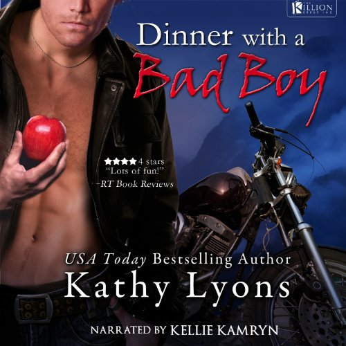 Dinner with a Bad Boy audiobook cover art