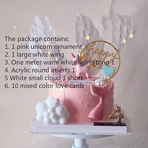 Cake Decoration Plugin Rocking Horse Trojan Birthday Party Children's Creative Accessories Set-Blackzeenca