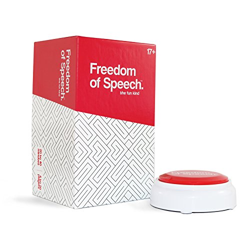 Freedom of Speech, the fun kind – A Party Card Game