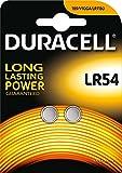 Lote de 8Pilas Duracell LR54–4Blister a 2Pilas–alcalina 1,5V
