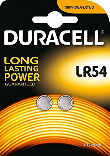 Pile-bouton Duracell type/réf. AG10 (2 unités sous blister)