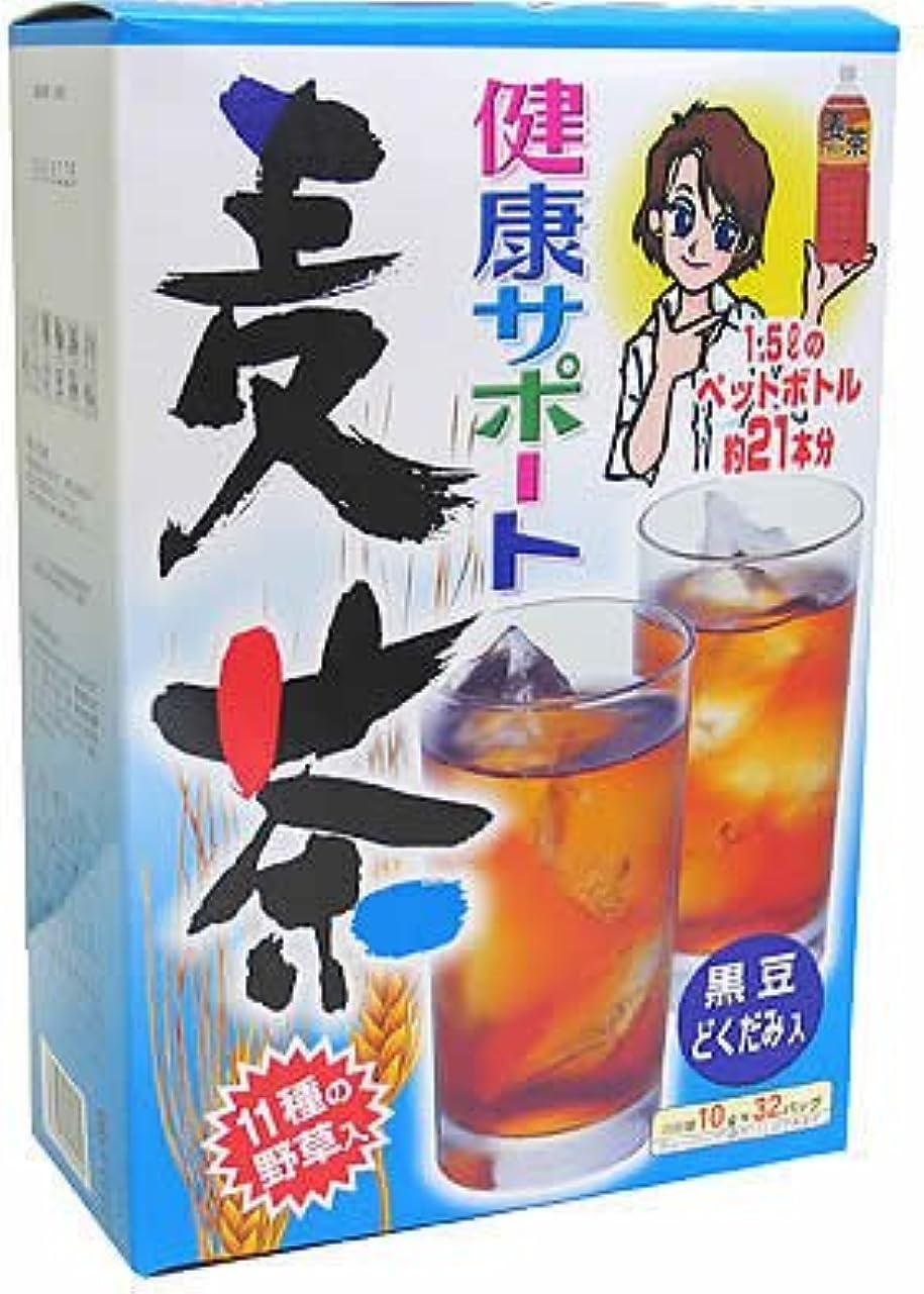 スクリーチ圧縮された大気山本漢方製薬 健康サポート麦茶 10gX28H