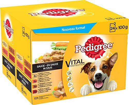 Pedigree - Cibo per Cani Adulti in Busta porzionata, Diverse varietà