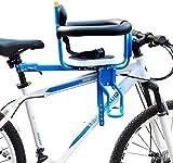 WYJW Asiento de Bicicleta para niños Asiento de desmontaje rápido Asiento de Seguridad prepuesto eléctrico para Bicicleta con Pedal Fácil de Instalar para niños de 8 Meses a 6 años