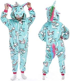 Z-YQL Unicornio para niños, pijama de animales, cosplay ...