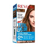 Revlon Total Color Coloration Permanente Clean & Vegan N°53 Châtain Moyen Doré 1 Unité